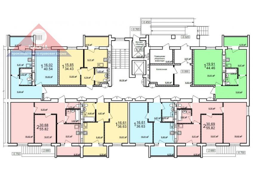 Дом №7 - 1-й этаж