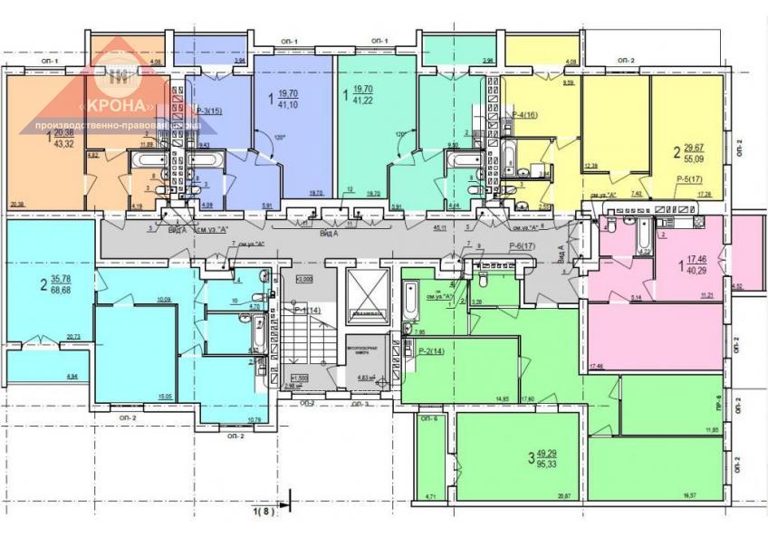 Дом №9 секция Б 2-9 этаж