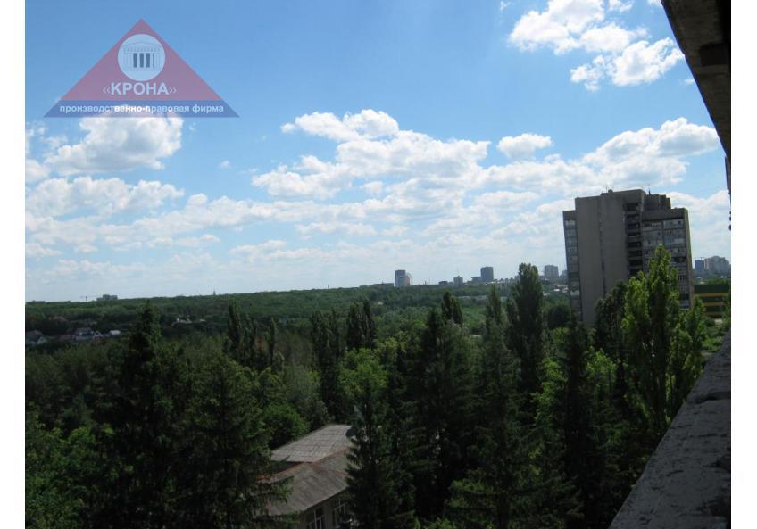 Вид с 7 этажа в сторону парка Горького