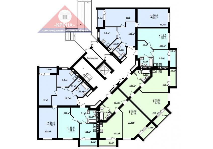 Секция Д 1-й этаж