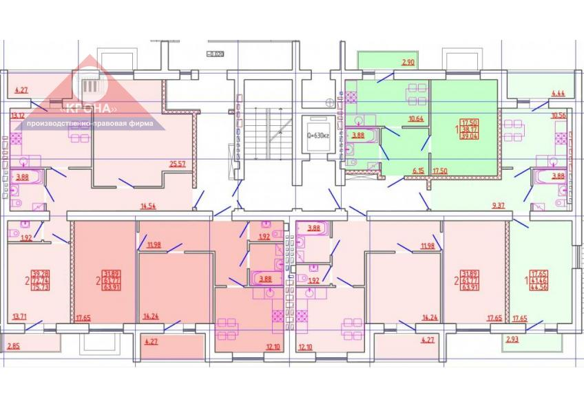 Секция Г 1 этаж