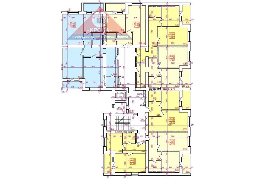 Дом №2 Секция Г 2-9 этажи