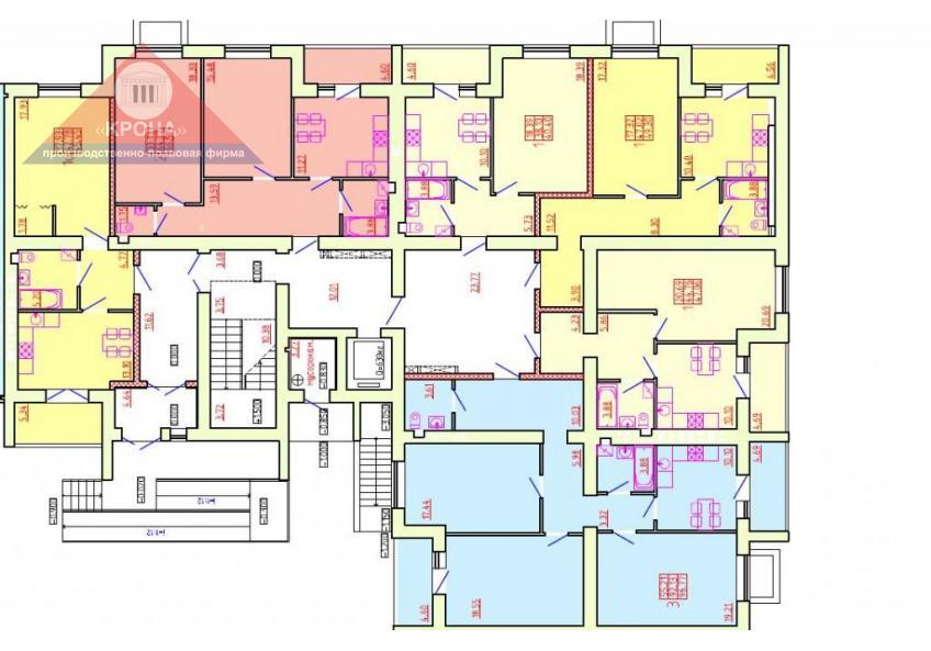 Дом №5 Секция Е 1 этаж