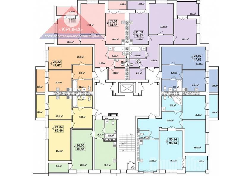 Дом Г 5 - 9 этажи