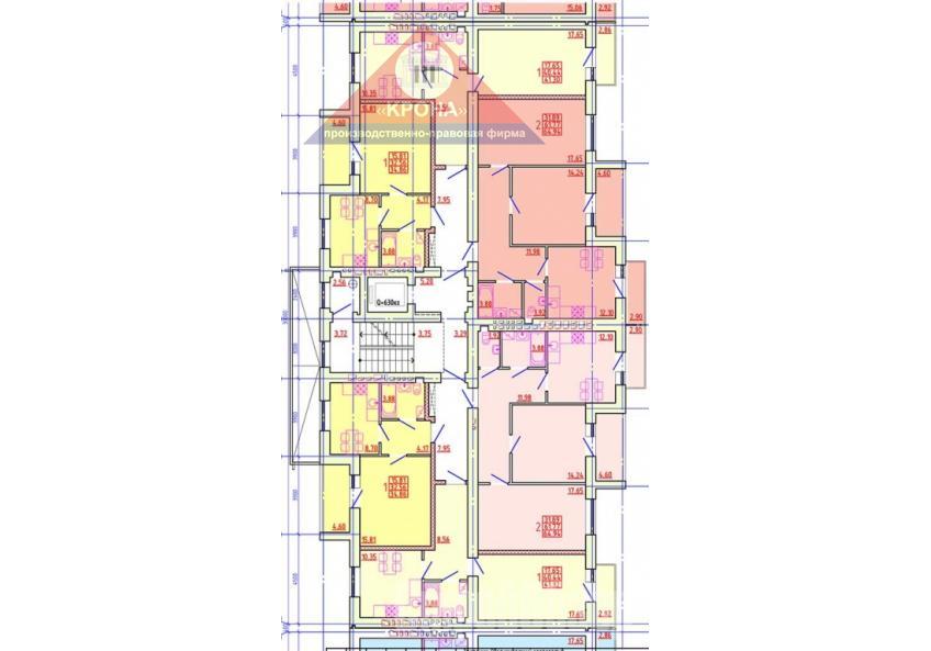 Дом №4 Секция Г 2-9 этажи