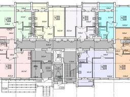 Дом №12 - 1-й этаж