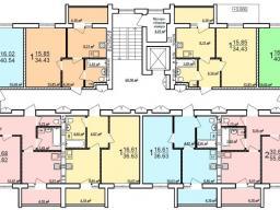Дом №7 - 2-9-й этажи