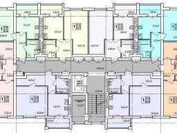 Дом №12 - 2-9-й этажи