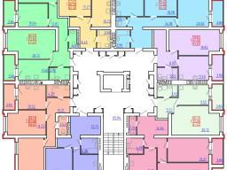 Дом №5   2 - 9 этажи