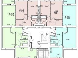 Секция А 2 - 9 этаж