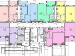 Дом №1  секция А 1-й этаж