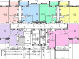Дом №3  секция А 1-й этаж