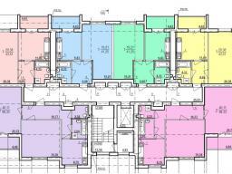 Дом №3  секция А 2 - 9  этажи