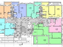 Дом №1  секция Б 1-й этаж