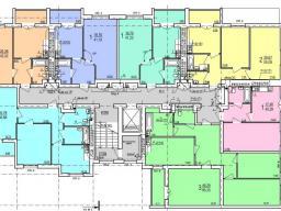 Дом №1  секция Б 2 - 9  этажи