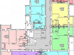 Дом №5  секция А 2 - 9  этажи