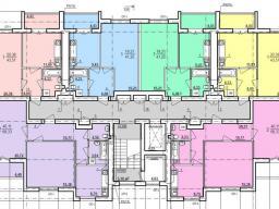 Дом №5 секция А 2-9 этаж