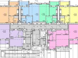 Дом №9 секция А 1 этаж