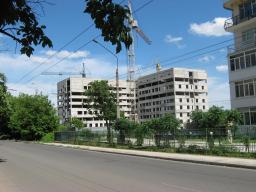 Вид с ул. Балакирева на 28.05.2013 г.