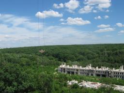 Вид на лес с 7 этажа