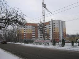 Вид с ул. Балакирева на 10.12.2013 г.