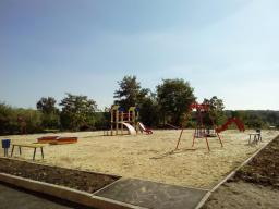 Детская площадка возле дома №5