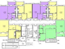 Дом №7  секция А 1-й этаж