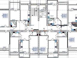 Секция А 2 - 7 этажи