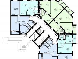 Секция Б 1-й этаж
