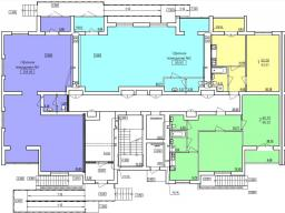 Дом №7  секция Б 1-й этаж