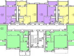 Дом №7  секция Б 2 - 9  этажи