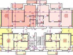 Дом №1 Секция Б 2-9 этажи