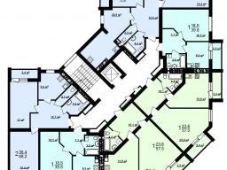 Секция Д 2 - 9 этаж