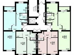 Секция Е 1-й этаж