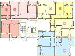 Дом №5 Секция Е 2 - 9 этаж