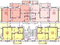Дом №2 Секция В 2-9 этажи