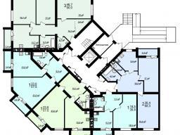 Секция Ж 1-й этаж