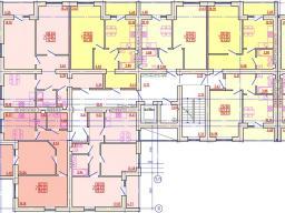 Дом №3 Секция А 2-9 этажи