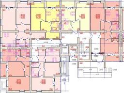 Дом №3 Секция А 1 этаж